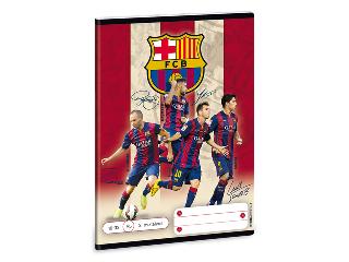 Barcelona 2. oszt. vonalas A/5 füzet 16-32