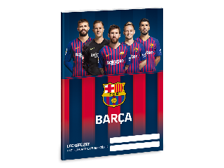 Barcelona A/5 leckefüzet