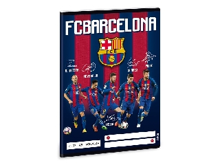 Barcelona A/5 vonalas füzet 2132
