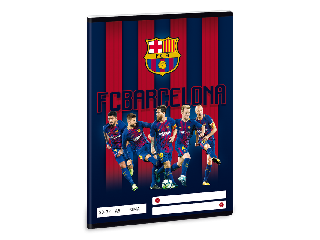 Barcelona FC A/5 sima füzet 2032