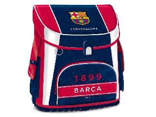 Barcelona kompakt mágneszáras iskolatáska + ajándék Activity Family társasjáték