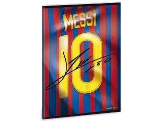 Barcelona Messi A/5-ös kapcsos sima füzet