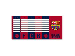 Barcelona órarend kétoldalas