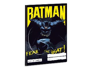 Batman 2. oszt. vonalas A/5 füzet 1632