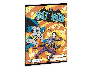 Batman A/5 kockás füzet 2732