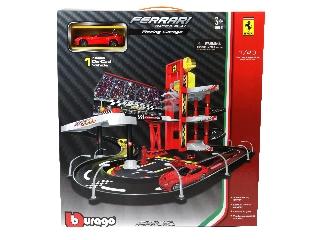 Bburago  Ferrari Racing garázs