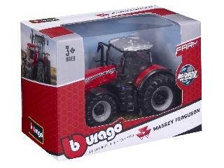 Bburago 10 cm traktor - Massey Ferguson