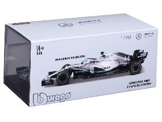 Bburago 1 /43 - 2019 Mercedes F1 sisakkal