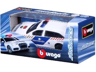 Bburago Audi A6 Avant Magyar rendőrautó - 1:43