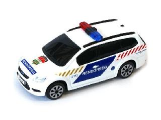 Bburago Ford Focus Magyar rendőrautó - 1:43 szírénázó