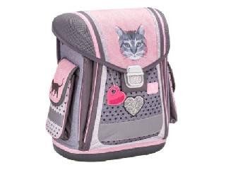 Belmil - Cute Cat merev falú iskolatáska