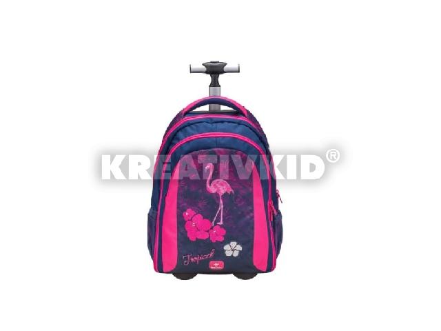Belmil Trolley és hátizsák 2 az 1-ben - Easy-go: Flamingo