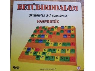 Betűbirodalom oktató társasjáték - Nagybetűk