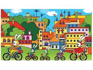 Biciklitúra a Pipitér-szigetre diafilm