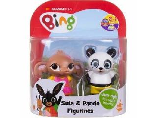Bing és barátai Sula és Pando figura