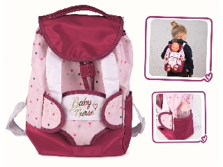 Smoby Baby Nurse hordozós hátizsák