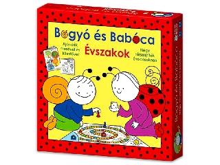 Bogyó és Babóca - Évszakok 4in1 társasjáték