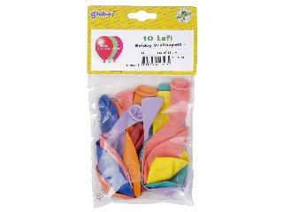 Boldog szülinapot lufi 10 db /csomag, vegyes szín