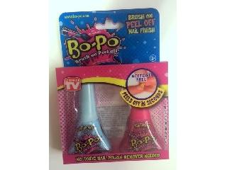 Bo-Po körömlakk 2 db-os - világoskék-pink (Cotton Candy Tint, Bubble Gum)