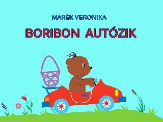 Boribon autózik diafilm