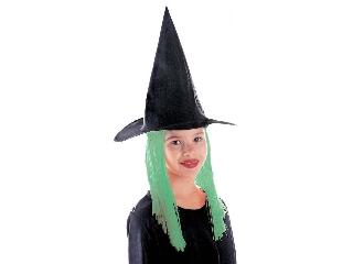 Boszorkány kalap - zöld hajjal