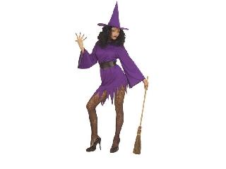 Boszorkány ruha - lila S-es