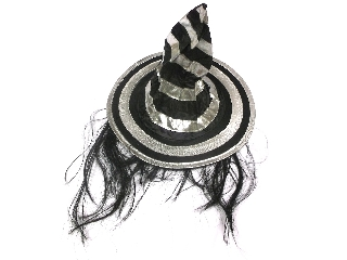 Boszorkánykalap hajjal - ezüst