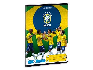 Brasil 2. oszt. vonalas A/5-ös füzet