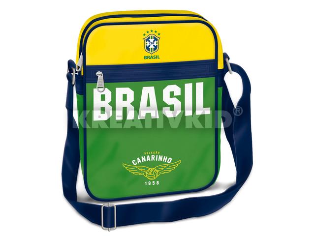 Brasil közepes álló oldaltáska