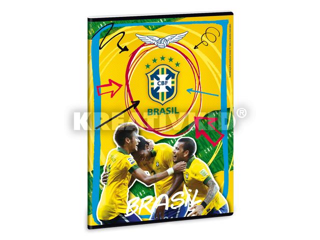 Brasil prémium füzet A/4-es vonalas