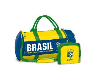 Brasil sporttáska neszesszerrel