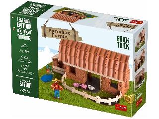 Brick Trick - Farmház kreatív építőjáték