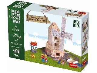 Brick Trick - Szélmalom kreatív építőjáték