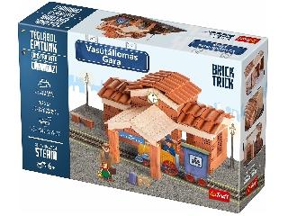 BrickTrick - Vasútállomás kreatív építőjáték