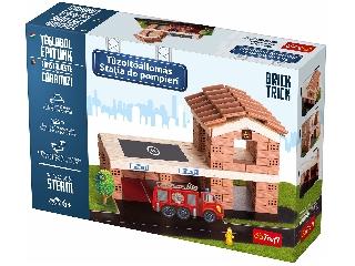 BrickTrick- Tűzoltóállomás kratív építőjáték