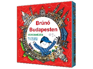 Brúnó Budapesten - Városnézés 4 társasjáték