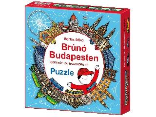 Brúnó Puzzle, 121 darabos,  Kiskörúttól a Nagykörútig
