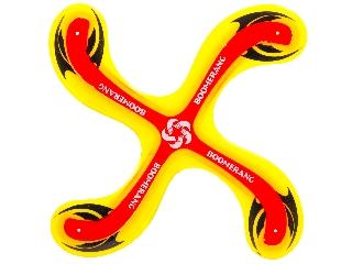 Bumeráng sárga-piros
