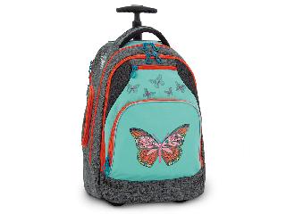 Butterflies pillangós gurulós iskolatáska