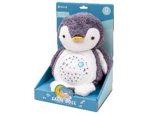 Calm doll - Plüss pingvin bébijáték