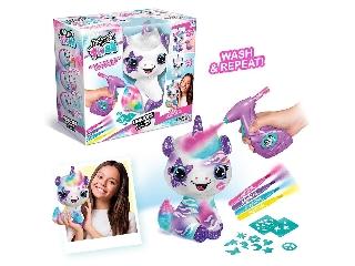 Canal toys, style 4 ever, színezhető plüss unikornis szett