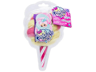 Candylocks - Baba sárga rózsaszín