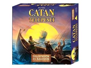 Catan kiegészítő Felfedezők és kalózok