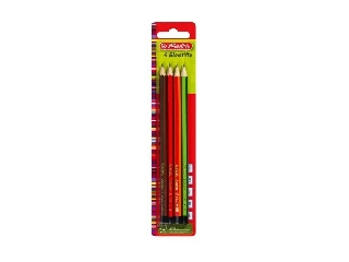 Ceruza / 4 db H, HB, B, 2B Scolair