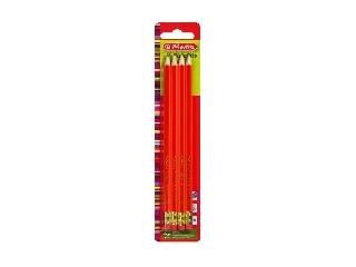 Ceruza / 4 db HB radírvégű Scolair