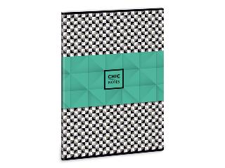 Chic notes - pepita A/4-es füzet kockás