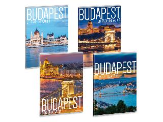 Cities-Budapest füzet négyzethálós A/5
