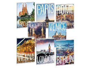 Cities-világ városai szótárfüzet A/5
