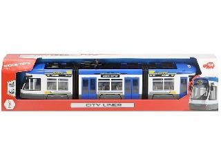 City Liner villamos kék