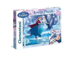Clementoni - Jégvarázs 104 db-os puzzle strasszkövekkel
